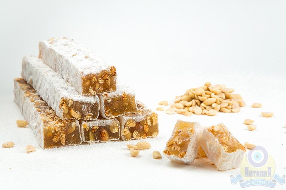 Лукум Визирь ванильный с арахисом